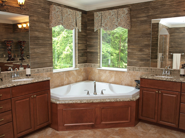 a wall of kitchen cabinets master bathroom 10403