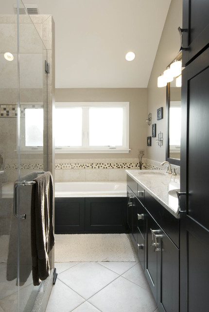 Master bathroom redesign and remodel aurora il for Bathroom redesigns
