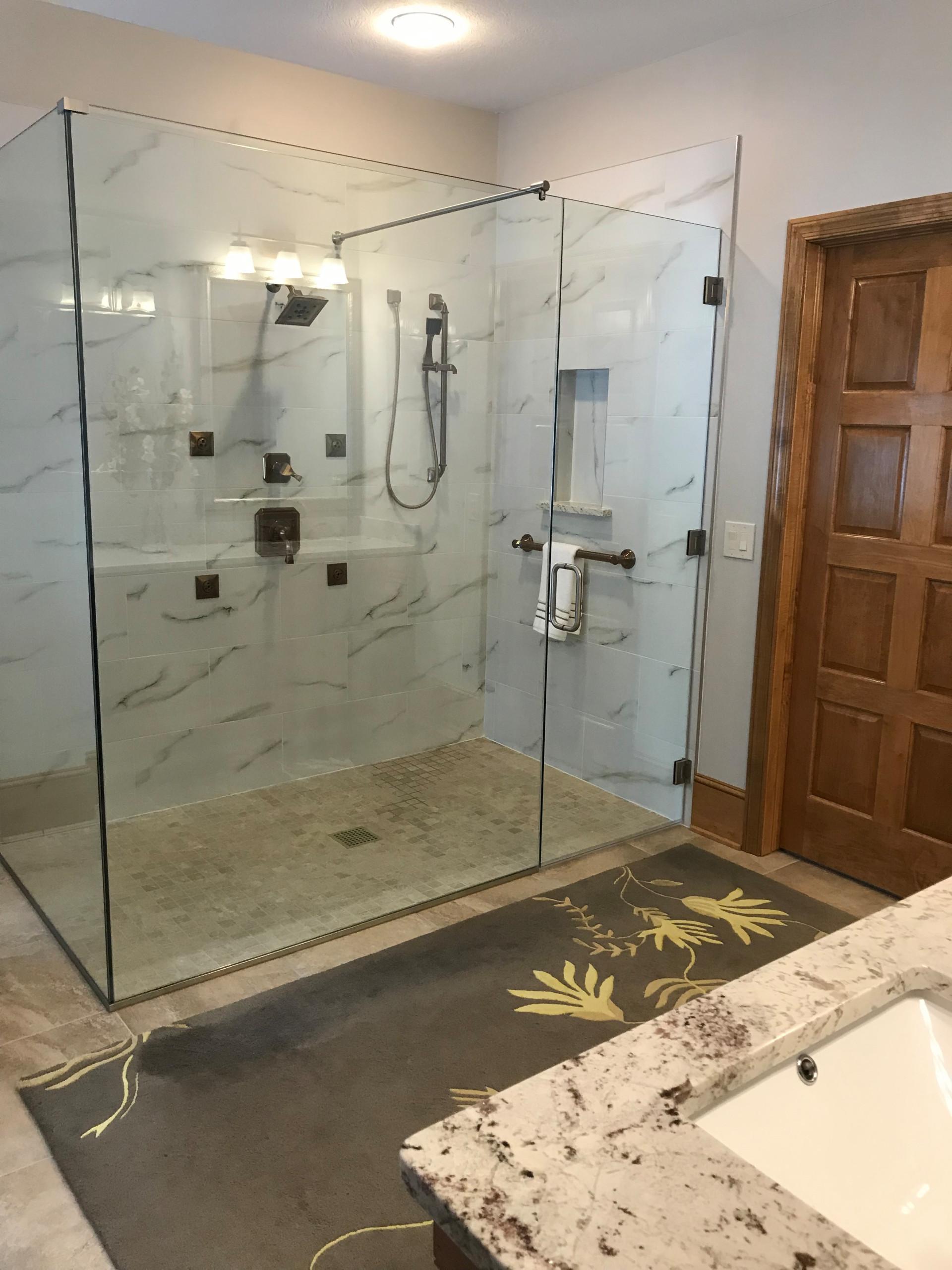Master bathroom redesign