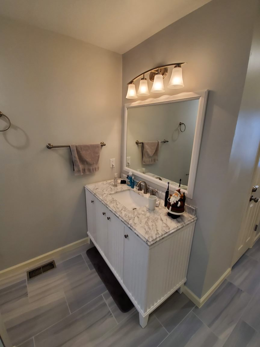 Master Bathroom Remodel- Aging in Place