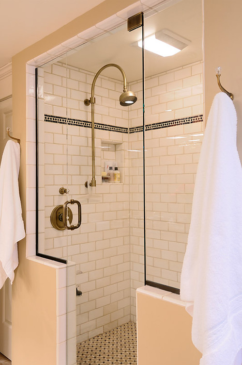 Are fixtures antique brass who makes these shower fixtures stunning Bathroom tile showers