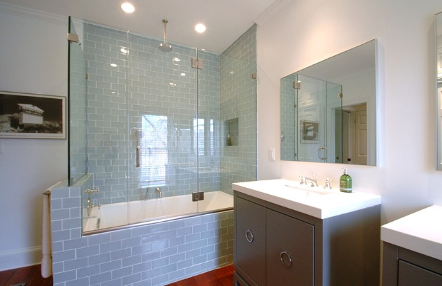 Design & Build. Master Bathroom Remodel Boston modern-bathroom