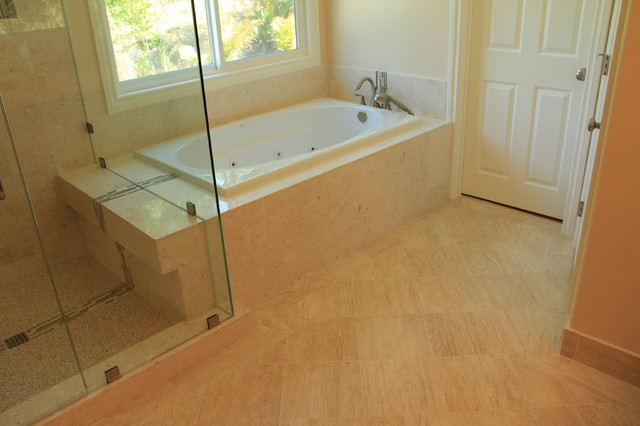 master bathroom remodel complete with jacuzzi tub large