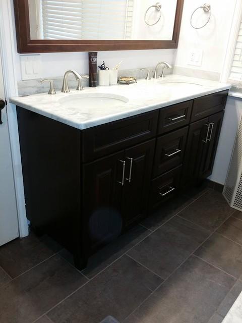 Master Bathroom Remodel Congress Park Denver Co Transitional Bathroom Other By