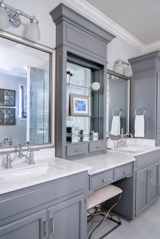 Master Bathroom Remodel - Transitional - Bathroom - New ...