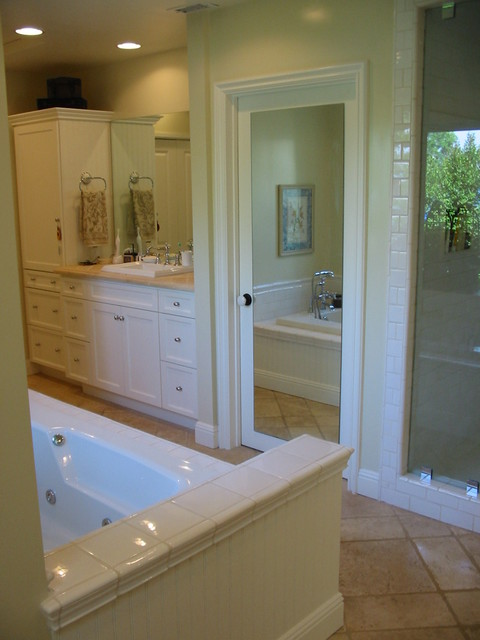 Master bathroom remodel dressing area tarzana ca for Bathroom remodelers in my area