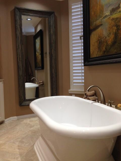 Master bathroom remodel in dallas modern bathroom for Bath remodel dallas