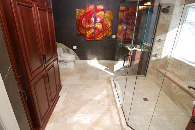 Master bathroom remodel in Ottawa traditional-bathroom