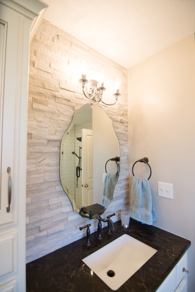 Master Bathroom Remodel - Lawrence - Traditional ...