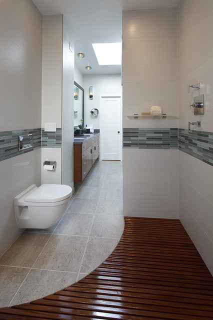 Luxury Contemporary Bathroom by Mark Newman Design