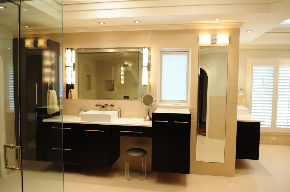 Master bathroom remodeling - Contemporary - Bathroom ...