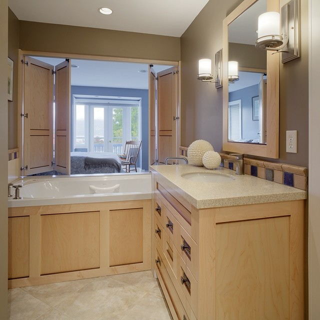 Master bathroom renewal contemporary bathroom for Renew bathroom