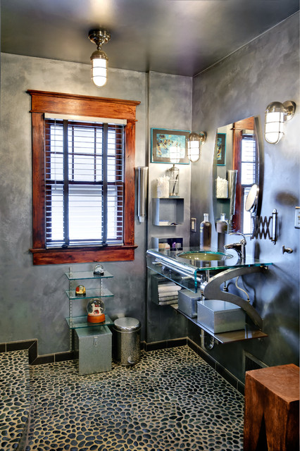 Master Bathroom Renovation Eclectic Bathroom Philadelphia By - Bathroom renovation philadelphia