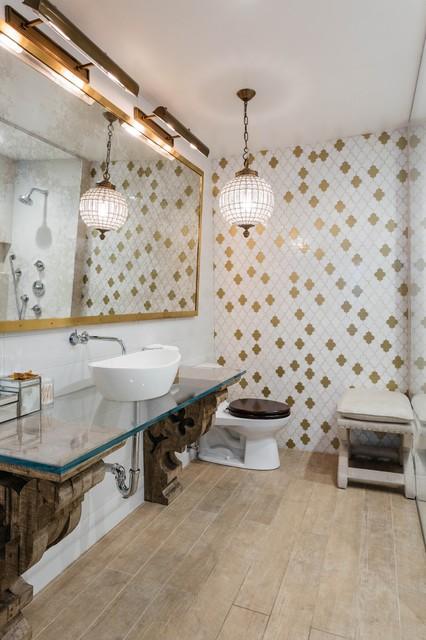 Master Bathroom Renovation - Eklektisch - Badezimmer - New York ...