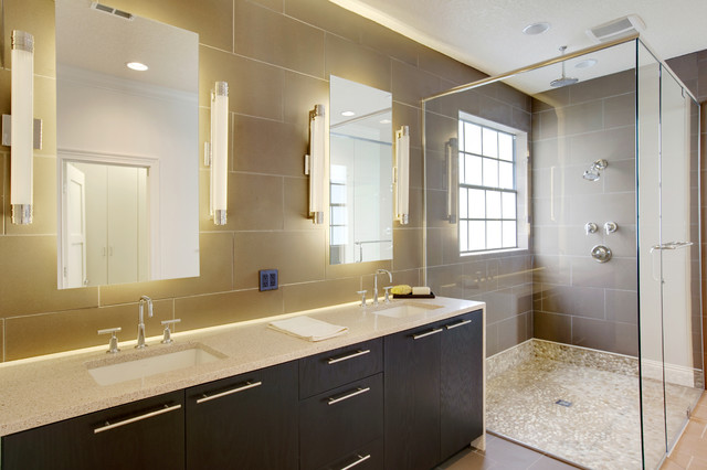 Master bathroom renovation for Photos of contemporary bathrooms