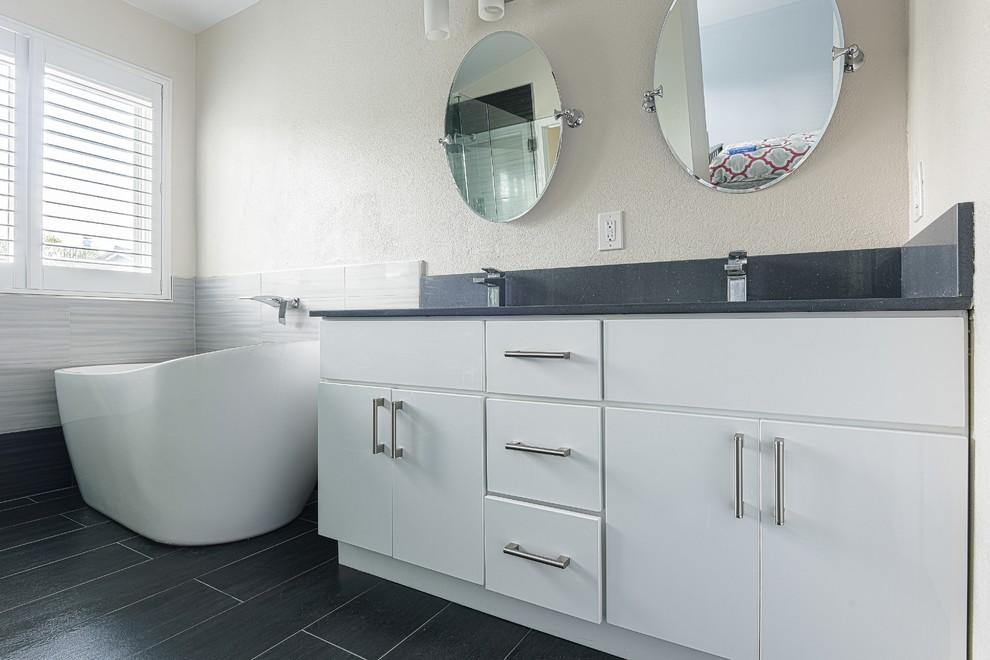 master bathroom San jose - Contemporary - Bathroom - San ...