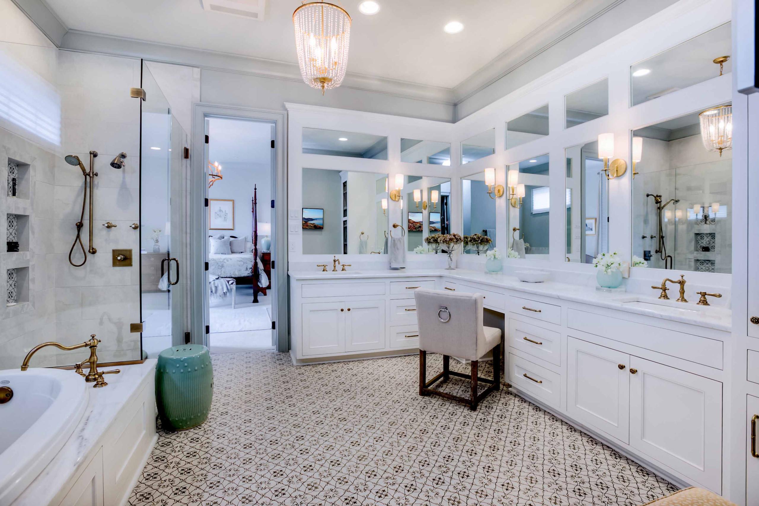 Master Bathroom - Settlement at Willow Grove - Baton Rouge Custom Home