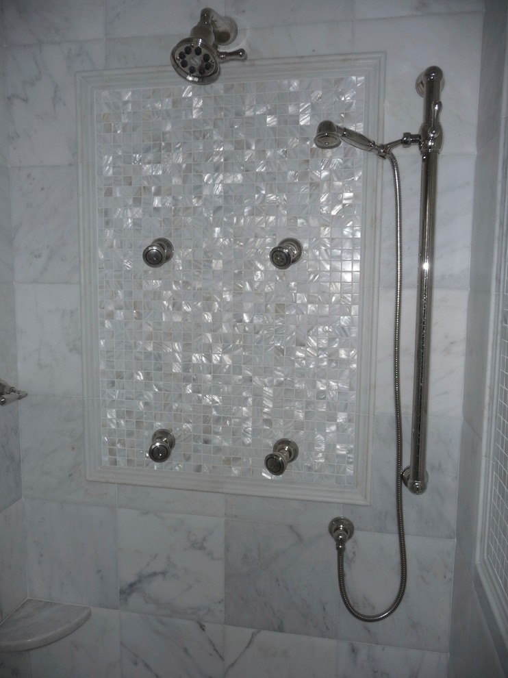 Bathroom - traditional bathroom idea in Boston