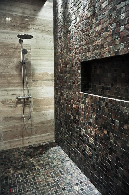Master Bathroom Shower tropical-bathroom