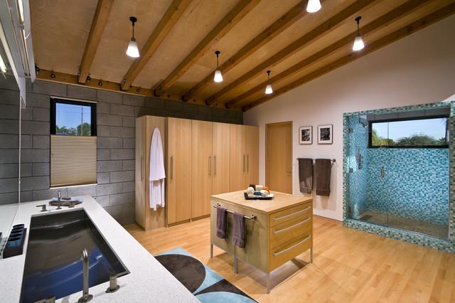 Master Bathroom | Sinks & Shower modern-bathroom