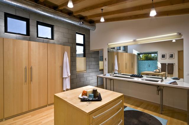 Master Bathroom   Sinks modern-bathroom
