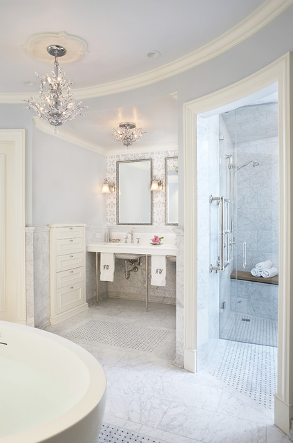 Master Bathroom Suite traditional-bathroom