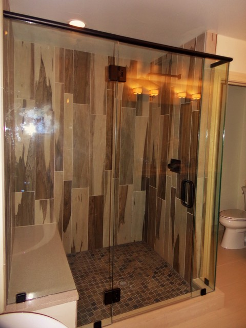 Master bathroom tile design installation modern bathroom for Bathroom design 101