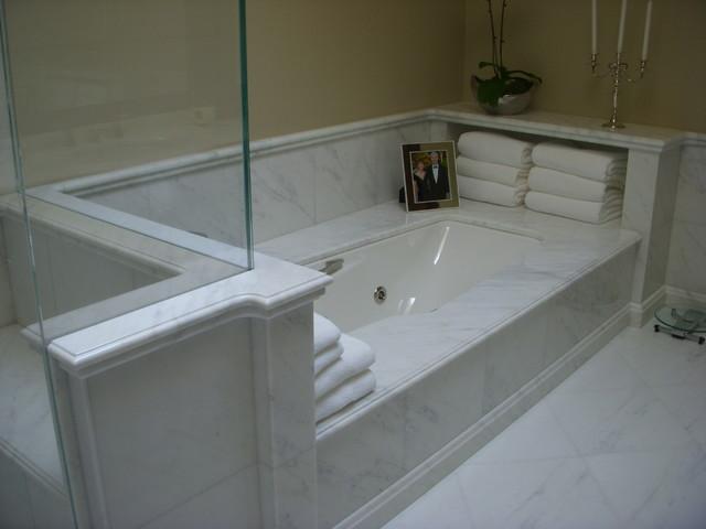 Master Bathroom Tub Deck Traditional Bathroom