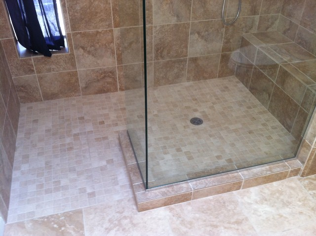 Master Bathroom Tub Shower Conversion Before And After