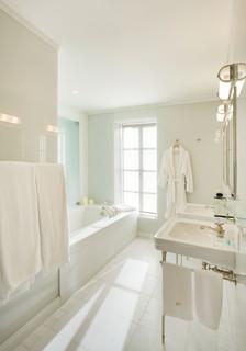 Master Bathroom Upper East Side Apartment New York City