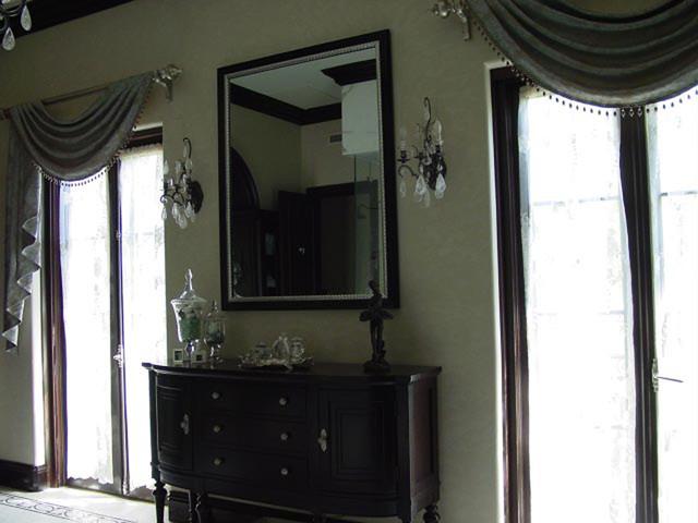Master Bathroom Valance traditional-bathroom