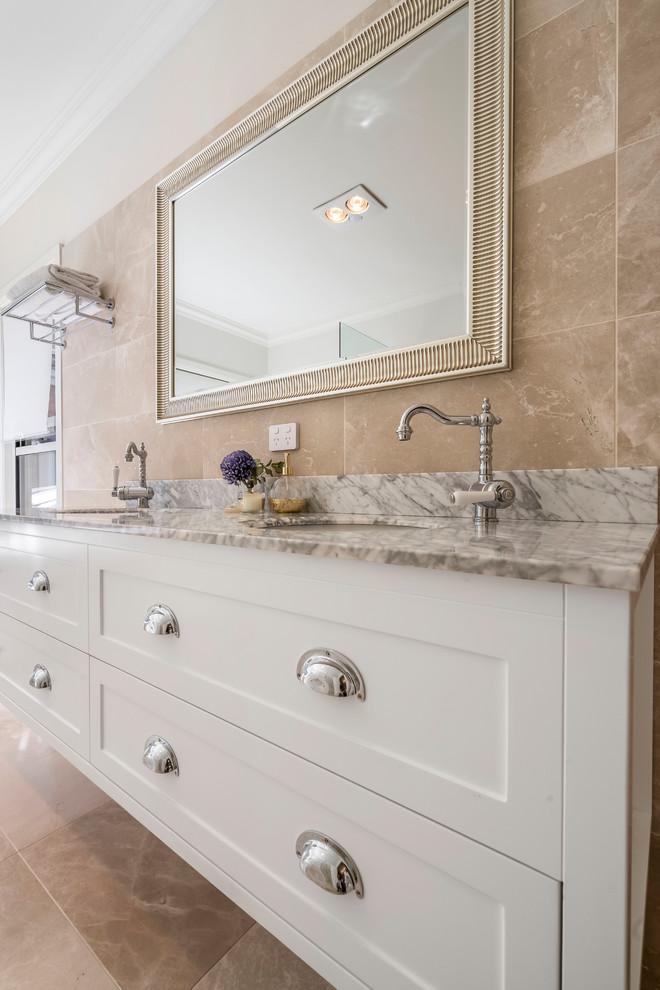 Master Bathroom Vanity Close Up Contemporary Bathroom Orange County By Vanity By Design Houzz