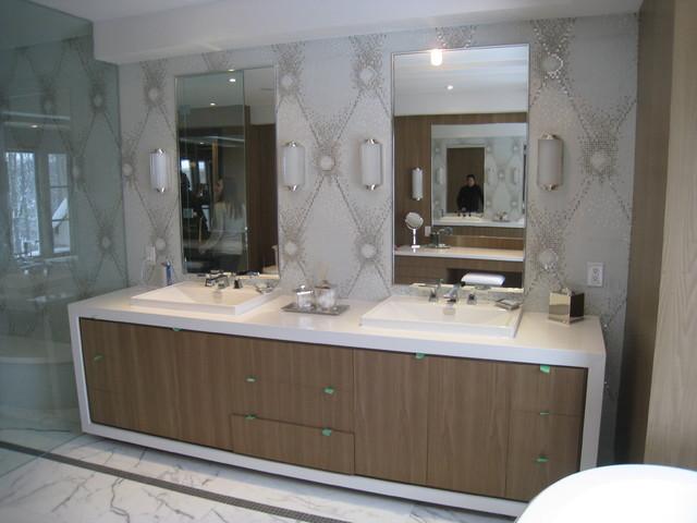Master bathroom vanity bathroom toronto by david nosella interior design - Bathroom design toronto ...
