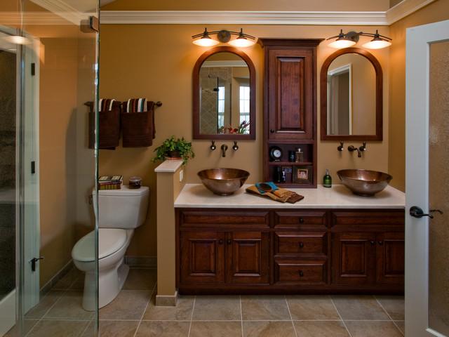 Master Bathroom Vanity Contemporary Bathroom Philadelphia By Harth Bu