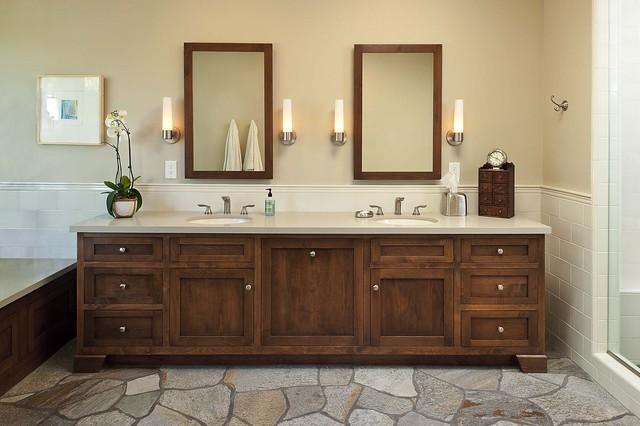 Master Bathroom Vanity - Eclectic - Bathroom - los angeles - by Kiyohara Moffitt