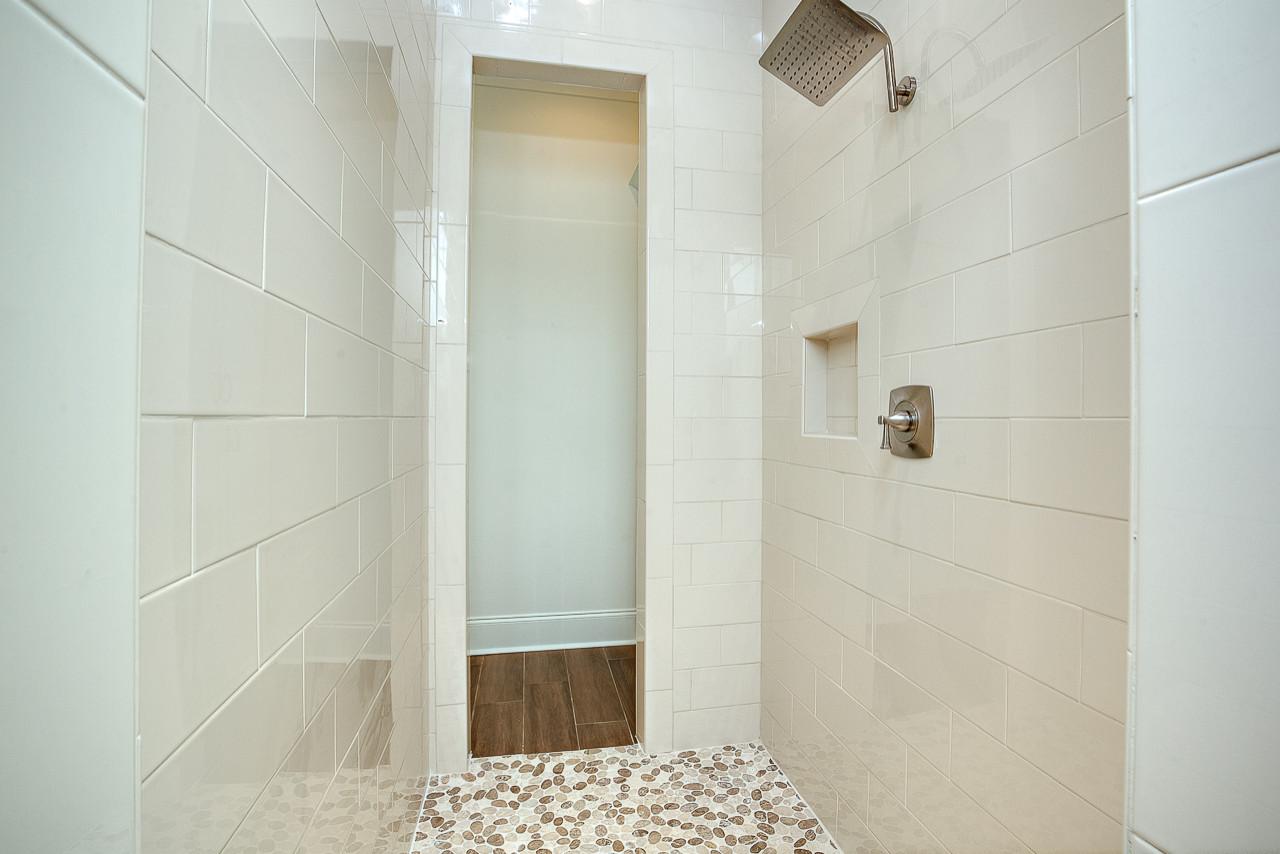 Master Bathroom Walk-in Shower - Old Goodwood Modern Farmhouse