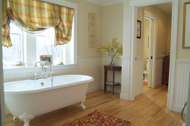 Master Bathroom With Claw Foot Tub Traditional Bathroom Boston By K Marshall Design Inc