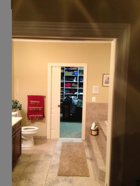 Master Bathroom (Wrightstown, NJ) 2010 traditional-bathroom