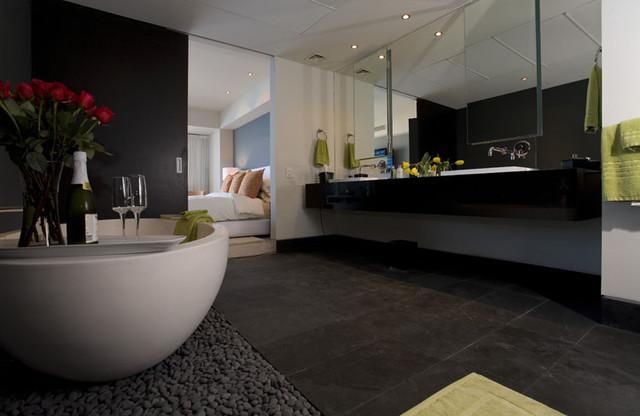 Master Bathroom Zen Modern Bathroom Orange County By Christopher James Interiors