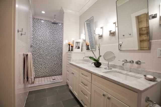 Master Bedroom & Bath contemporary-bathroom