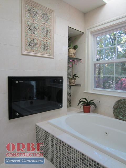 Master Bedroom & Bathroom Renovation at Headwaters Lane mediterranean-bathroom