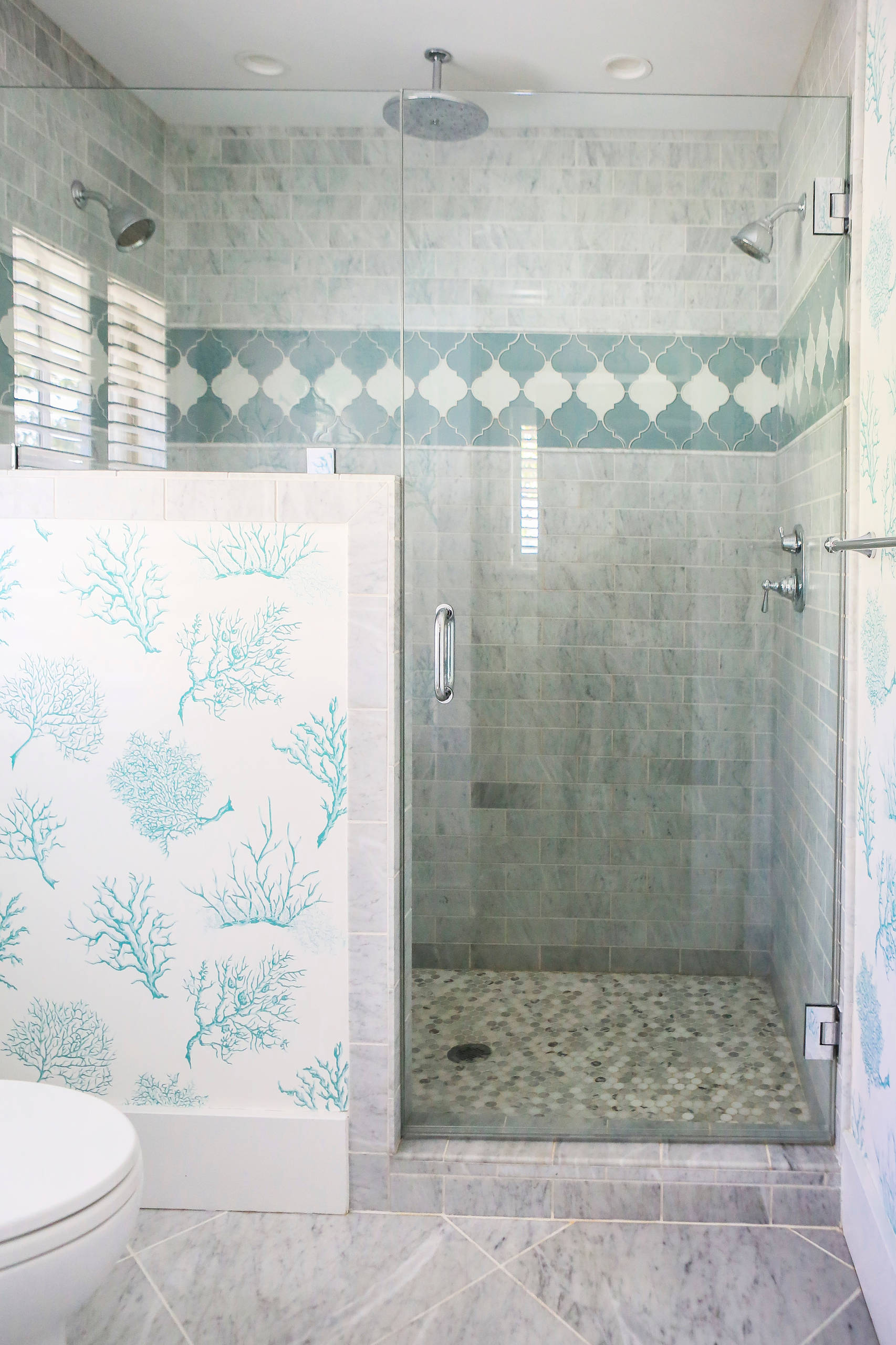 Master Bedroom Double Shower Stall