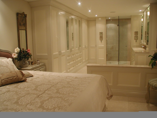 Master Bedroom Ensuite Traditional Bathroom Sydney