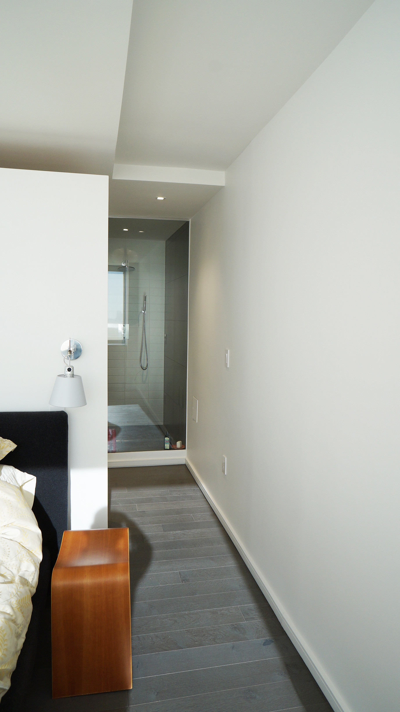 Master Bedroom + Modern Bathroom   Shower with City View