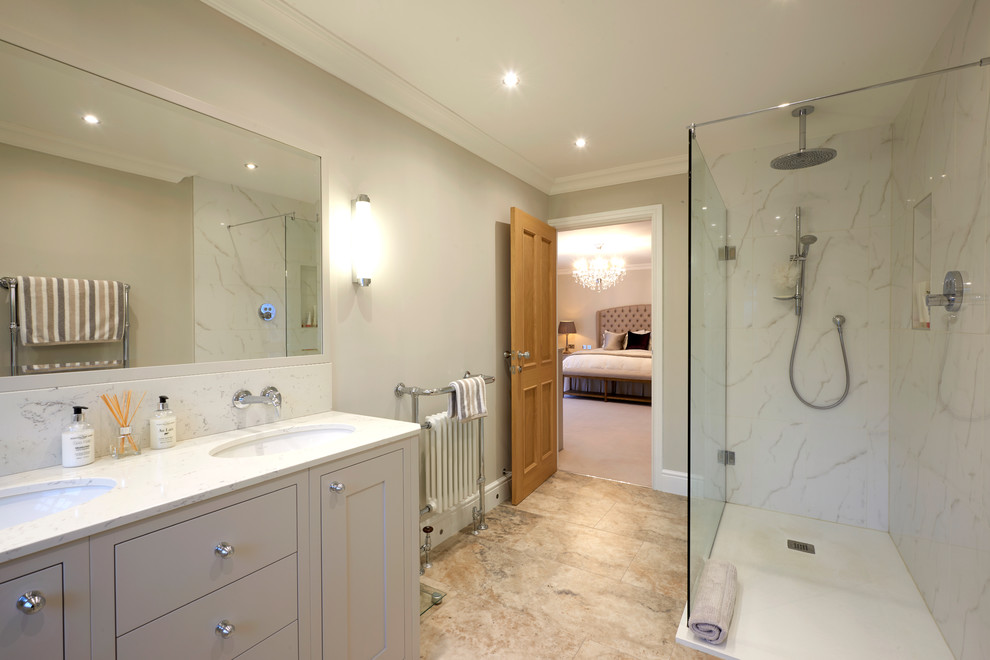 Master Bedroom With Dressing Room And Ensuite Bathroom Other By Room
