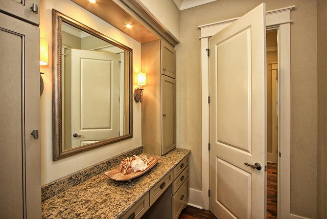 Master dressing area bathroom other metro by center for Bathroom designs with dressing area
