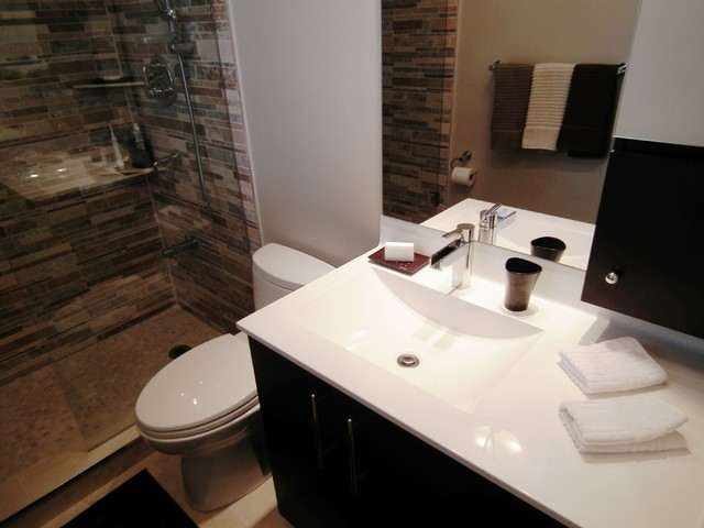 Master ensuite bathroom design renovation for Best ensuite designs