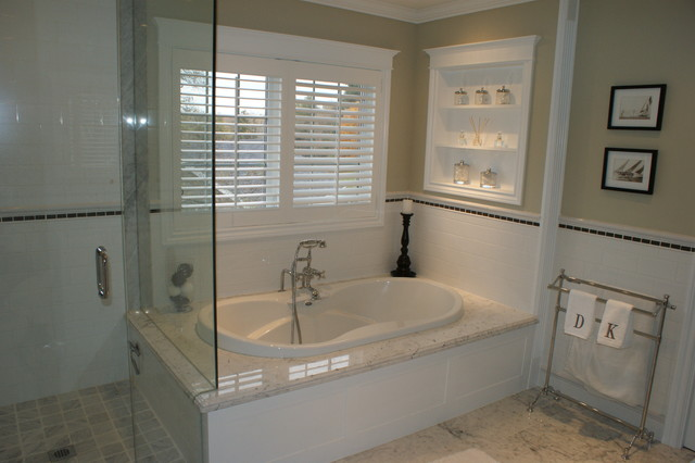 Master ensuite bathroom project traditional bathroom for Master bathroom ensuite