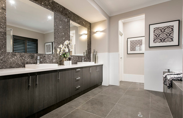 Master ensuite bathroom the rawson in vogue display contemporary bathroom perth by Bathroom design perth uk