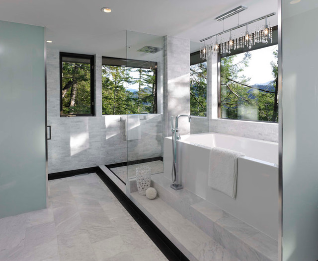 Master ensuite modern bathroom vancouver by my for Master bathroom ensuite